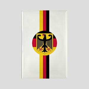 Germany Soccer Fussball SV de Rectangle Magnet