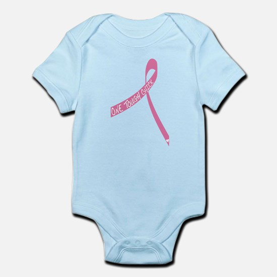 One Tough Chick Ribbon Infant Bodysuit