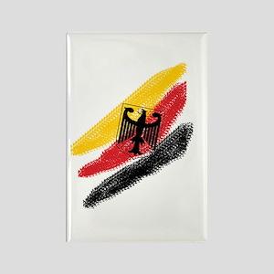 Germany deutschland Soccer Eagle Rectangle Magnet