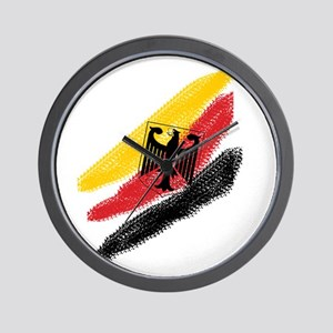 Germany deutschland Soccer Eagle Wall Clock