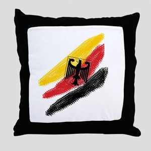 Germany deutschland Soccer Eagle Throw Pillow