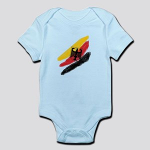 Germany deutschland Soccer Eagle Infant Bodysuit