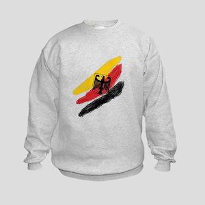 Germany deutschland Soccer Eagle Kids Sweatshirt