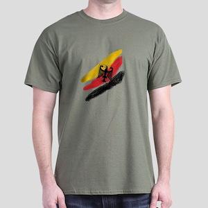 Germany deutschland Soccer Eagle Dark T-Shirt