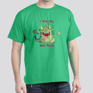Valentine Monster Dark T-Shirt