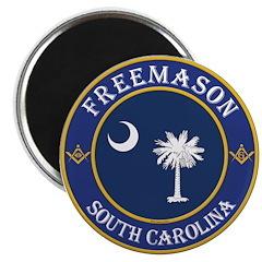 South Carolina Masons Magnet