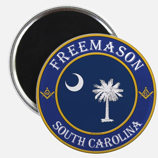 "South Carolina Masons 2.25"" Magnet (10 pack)"