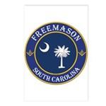 South Carolina Masons Postcards (Package of 8)