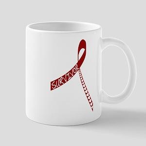 Heart Disease Survivor Ribbon Mug
