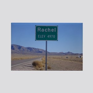 Rachel Sign Rectangle Magnet