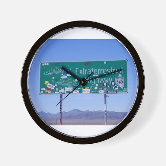 Rachel ET HWY Sign Wall Clock