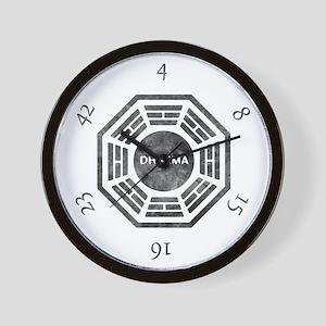 Dharma Numbers Wall Clock