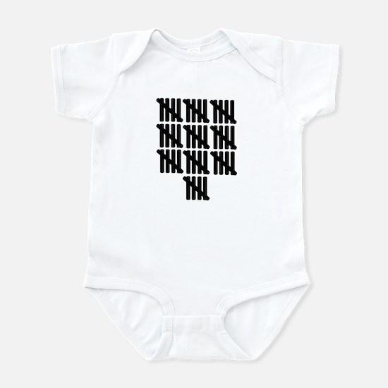 50th birthday Infant Bodysuit