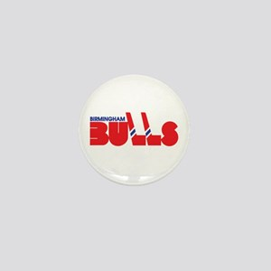 Birmingham Bulls Mini Button