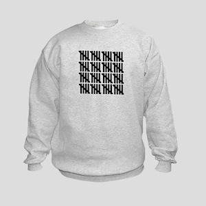 80th birthday Kids Sweatshirt