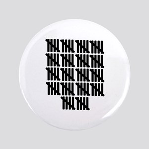 "90th birthday 3.5"" Button (100 pack)"
