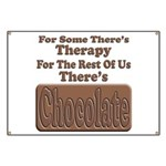 Chocolate Therapy Banner