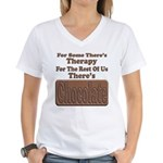 Chocolate Therapy Women's V-Neck T-Shirt