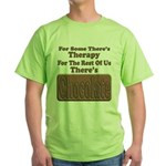 Chocolate Therapy Green T-Shirt