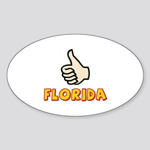 WHERE I WANT TO BE Sticker (Oval 10 pk)