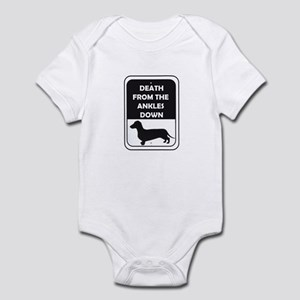 Ankle Death Infant Bodysuit