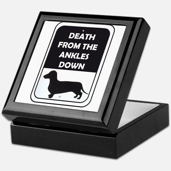 Ankle Death Keepsake Box