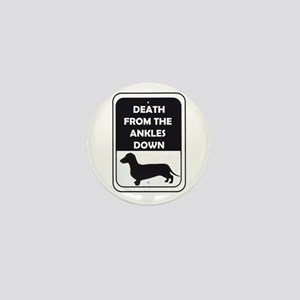Ankle Death Mini Button