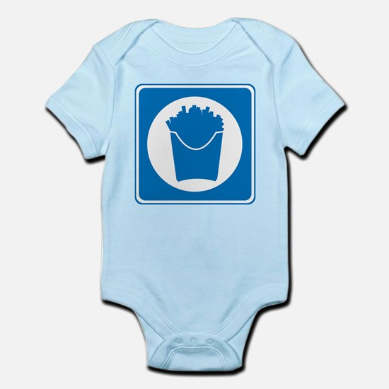 Drive-Thru Dining 2 Infant Bodysuit