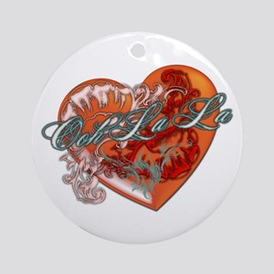 Ooh La La Ornament (Round)