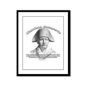 Napoleon Bonaparte 02 Framed Panel Print