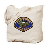 Placentia California Police Tote Bag