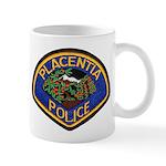 Placentia California Police Mug