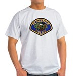 Placentia California Police Light T-Shirt