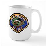 Placentia California Police Large Mug