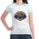 Placentia California Police Jr. Ringer T-Shirt