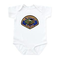 Placentia California Police Infant Bodysuit