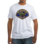 Placentia California Police Fitted T-Shirt
