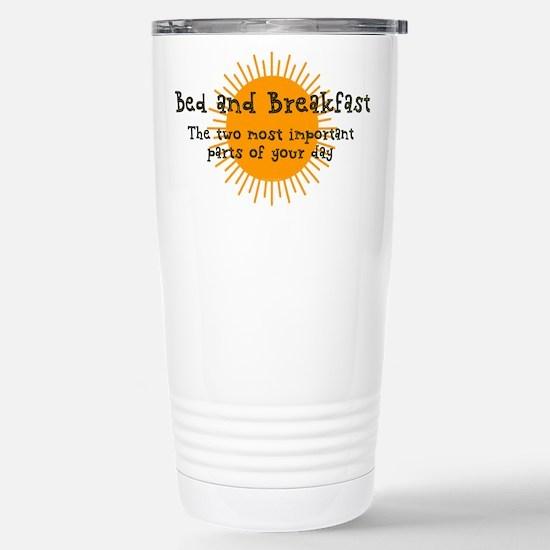 Bed and Breakfast Travel Mug