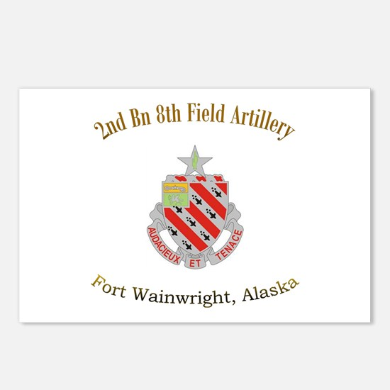 2nd Bn 8th FA Postcards (Package of 8)