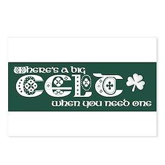 Big Celt Postcards (Package of 8)