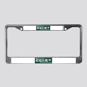 Big Celt License Plate Frame