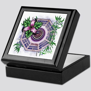 Lost TV Dharma Orchid Keepsake Box