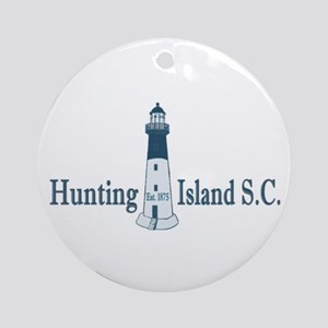 Hunting Island SC Ornament (Round)