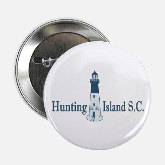 "Hunting Island SC 2.25"" Button"