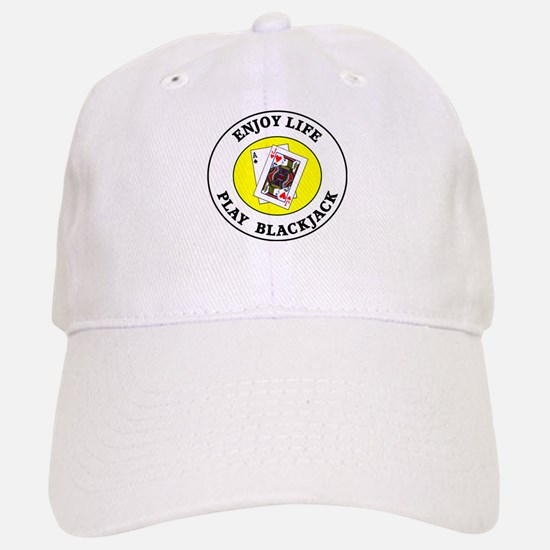 Enjoy Life Play Blackjack Baseball Baseball Cap