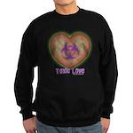 Toxic Love Sweatshirt (dark)