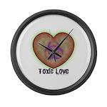 Toxic Love Large Wall Clock