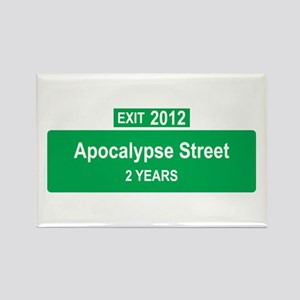 Apocalypse Exit Rectangle Magnet