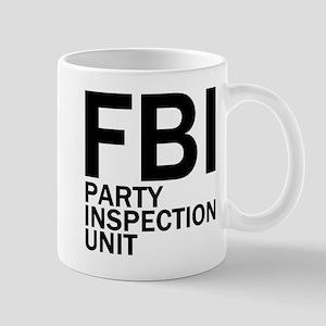 FBI Party Inspection (See Back) Mug