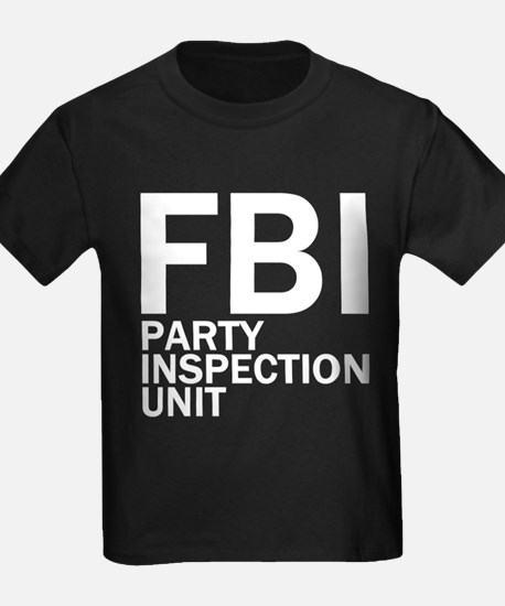FBI Party Inspection (See Back) T